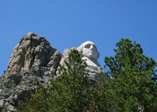 Zet Rushmore op Royalty-vrije Stock Afbeelding