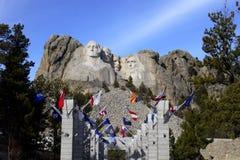 Zet Rushmore op Royalty-vrije Stock Fotografie