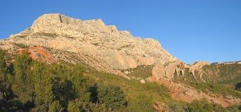 Zet Sainte Victoire op Stock Foto's