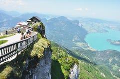 Zet Schafberg, Oostenrijk op stock afbeeldingen