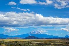 Zet Shasta-vallei, Noord-Californië, de V.S. op Royalty-vrije Stock Foto's