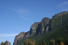 Zet Si bij het Noordenkromming Washington op royalty-vrije stock foto's
