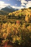 Zet Sneffels-Waaier, Colorado op stock afbeeldingen