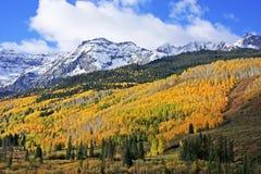 Zet Sneffels-Waaier, Colorado op royalty-vrije stock afbeeldingen