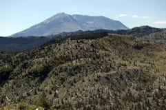 Zet St. Helens de Streek van de Ontploffing op stock foto