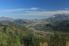 Zet St Helens gebied Washington State op stock foto