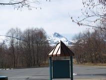 Zet St Helens Nationaal Park op royalty-vrije stock afbeelding
