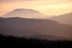 Zet St Helens Schemer, de staat van Washington op stock foto's