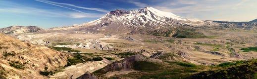 Zet St. Helens vulkaan op royalty-vrije stock afbeelding
