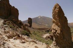 Zet Teide 2 op royalty-vrije stock foto's