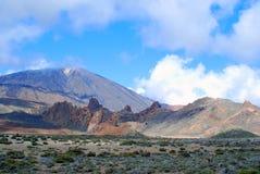 Zet Teide op Stock Foto's