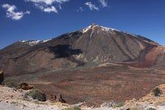 Zet Teide op Stock Afbeelding