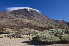 Zet Teide, Tenerife op, Canarische Eilanden Stock Afbeeldingen