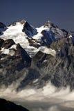 Zet Titlis, Zwitserland op Stock Foto's