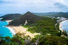 Zet Tomaree-Vooruitzicht, NSW, Australië op royalty-vrije stock fotografie