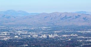 Zet Umunhum-Mening San Jose 2 op stock afbeeldingen