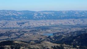 Zet Umunhum Morgan Hill View op stock foto's