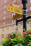 Zet Vernon Place op Royalty-vrije Stock Foto's