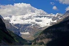 Zet Victoria in Canadese Rockies op Royalty-vrije Stock Afbeeldingen