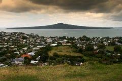 Zet Victoria, Nieuw Zeeland op Stock Fotografie