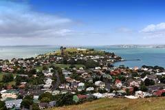 Zet Victoria, Nieuw Zeeland op Stock Foto