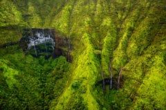 Zet Waialeale op als de natste vlek op Aarde, Kauai wordt bekend dat Royalty-vrije Stock Foto's