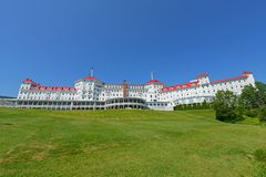 Zet Washington Hotel, New Hampshire, de V.S. op royalty-vrije stock foto's