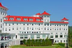 Zet Washington Hotel, New Hampshire, de V.S. op royalty-vrije stock afbeelding