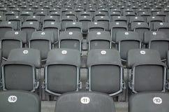 Zetels in Berlin Olympiastadion Stock Afbeeldingen