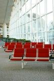 Zetels in luchthaven royalty-vrije stock fotografie