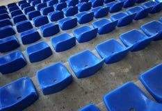 Zetels in stadion royalty-vrije stock fotografie