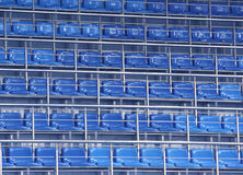 Zetels in stadion Royalty-vrije Stock Afbeelding