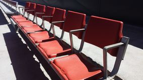 Zetels 5 van het stadion Royalty-vrije Stock Foto's