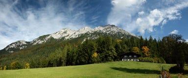 Zettenkaiser & Scheffauer, Wilder Kaiser, Tirol, Austria stock photography