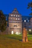 Zeughaus Giessen. Old arsenal (Zeughaus), building of Justus-Liebig-University of Giessen, Hesse, Germany Royalty Free Stock Image