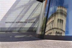 Zeughaus uskrzydla rozszerzenie Niemiecki Dziejowy muzeum - Deutsches Historisches muzeum w Berlin, Niemcy Fotografia Royalty Free
