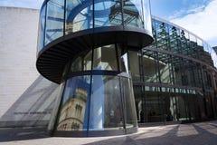 Zeughaus uskrzydla rozszerzenie Niemiecki Dziejowy muzeum - Deutsches Historisches muzeum w Berlin, Niemcy Fotografia Stock