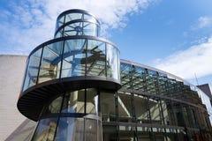 Zeughaus uskrzydla rozszerzenie Niemiecki Dziejowy muzeum - Deutsches Historisches muzeum w Berlin, Niemcy Obrazy Stock