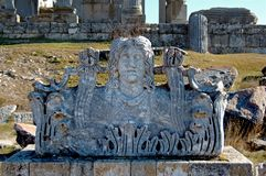 zeus świątyni Zdjęcia Royalty Free