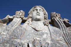 Zeus Świątynia, Aizanoi, Cavdarhisar, Kutahya, Turcja Zdjęcie Stock
