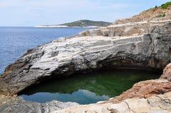 zeus σπηλιών Στοκ φωτογραφίες με δικαίωμα ελεύθερης χρήσης