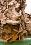 Zeus фонтана Стоковая Фотография RF