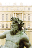 Zeus. Statue detail  in front of palace Stock Photo