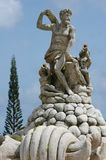 Zeus. Fountain in Princetown, Kauai Stock Photo