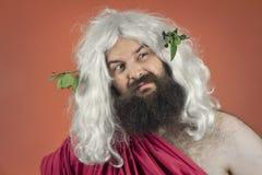 Zeus asqueado Imagen de archivo