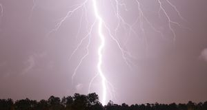 Zeus' Bolt Stock Images