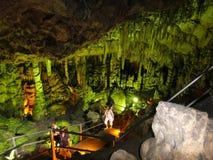 Zeus Cave Royalty-vrije Stock Foto