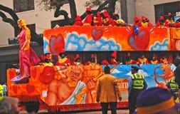 Zeus et cupidon sur le flotteur dans Zulu Parade Photo stock