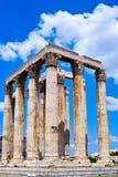 zeus för greece olympiatempel Royaltyfri Fotografi