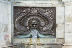 Zeus fountain at the Queeen Victoria memorial in London Royalty Free Stock Photo